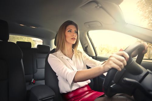 Women are more likely to be injured in front impact car accident